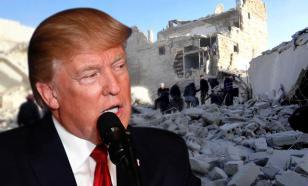 Трамп рассказал, зачем нанес удар по Сирии