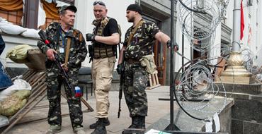В Луганске облсовет самораспустился и передал власть Народному совету