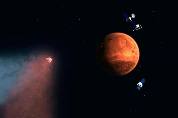 Ученые: Марс столкнется с Землей