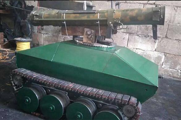 Новинка оборонпрома Сирии: робот-гранатометчик, управляемый на расстоянии