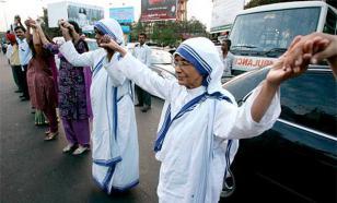 Мать Тереза стала святой