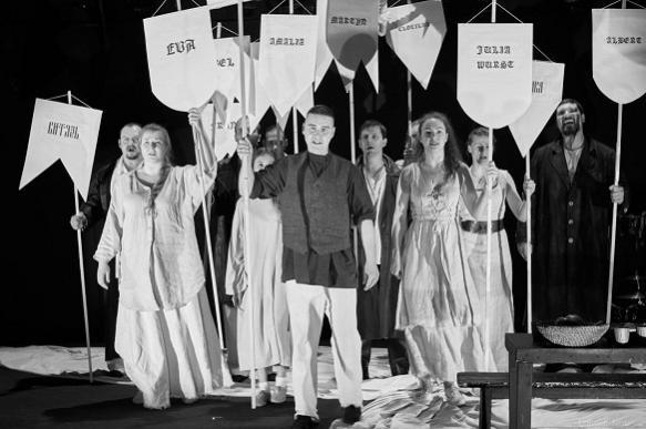 """Театр на Таганке покажет """"Сцены из рыцарских времен"""""""