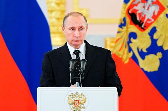 Путин: никто неможет запретить кому-то открыто высказывать свою позицию