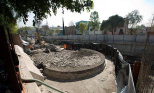Мексиканские археологи обнаружили храм Бога ветров Ээкатля