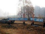 Рязанская  область. Свежая травка на пепелище