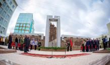 В Якутске увековечили память горожан, сражавшихся за Родину