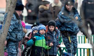 Из детсада Москвы эвакуировали около 200 детей
