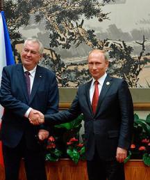 Земан попросил у Путина поддержки