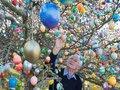 Пасха в Германии: 10 000 пасхальных яиц на яблоне Крафтов