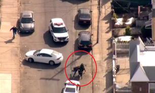 Полиция Нью-Йорка провела спецоперацию по захвату коровы. ВИДЕО