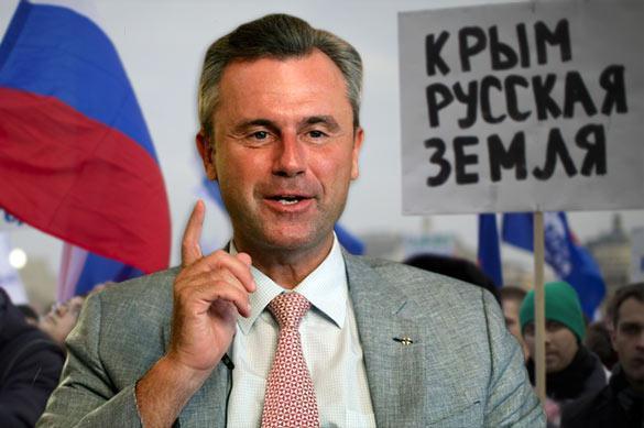 Будущий президент Австрии признает Крым российским
