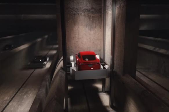 Маск придумал подземные туннели для скоростной езды. ВИДЕО