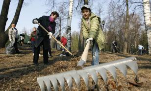 На экологический субботник вышли миллионы россиян