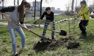 """""""Зеленая весна"""": как проходят субботники в российских городах"""