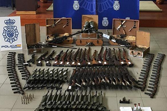 В Испании изъяли предназначавшееся террористам оружие на 10 млн евро