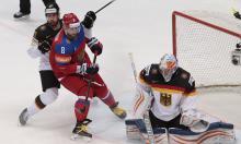 Матч Россия-Германия закончился со счетом 4:1. Сборная России по хоккею - в полуфинале ЧМ-2016