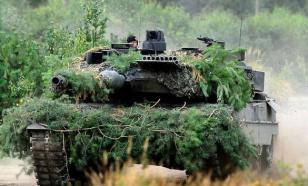 """Для """"устрашения России"""" бундесвер отправил в Литву тяжелую бронетехнику"""