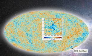 Ученые нашли точку, в которой столкнулись две вселенные