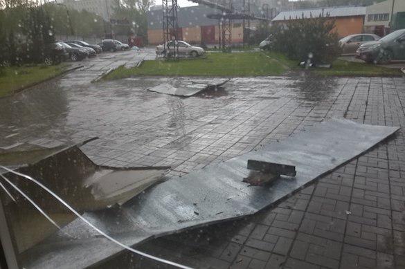 Мощный ураган пронесся по Центральной России