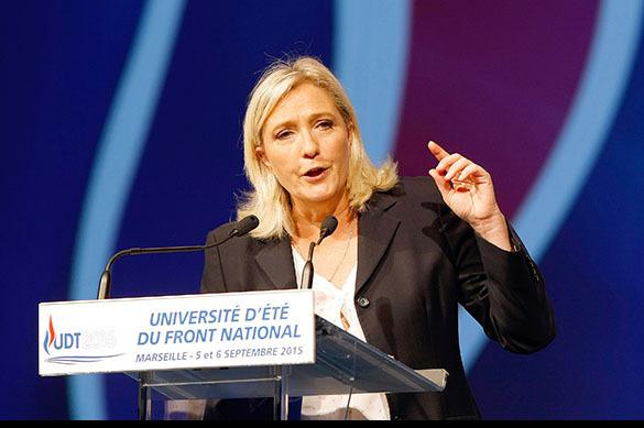 Опрос: Марин Ле Пен победит в первом туре выборов