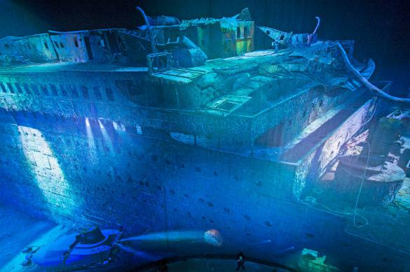 """Подводные туры к затонувшему """"Титанику"""" организует британская турфирма"""
