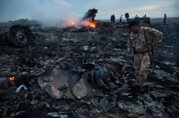 В сети появилось сенсационное видео крушения рейса MH-17