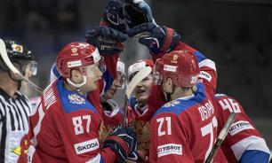 Сборная России уверенно вышла в полуфинал Чемпионата  мира по хоккею