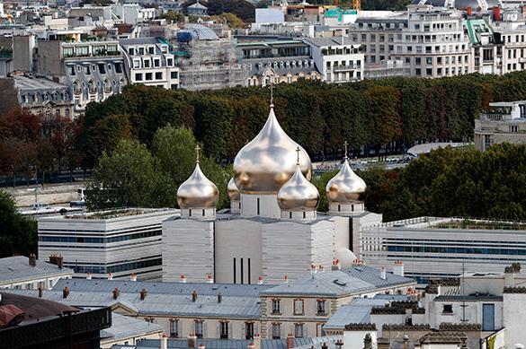 Патриарх Кирилл освятит в Париже Троицкий храм при Русском духовном центре