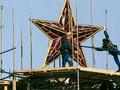 Ремонт Спасской башни будет завершен в апреле
