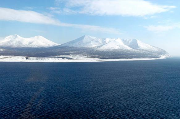 Землетрясение магнитудой 5,0 зафиксировано у Курильских островов
