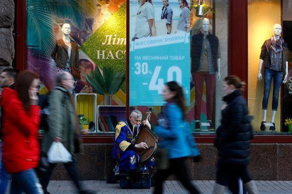 Украина: Безработным — дырка от бублика