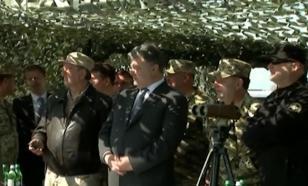 Очередной старт новейшей украинской ракеты показали Петру Порошенко