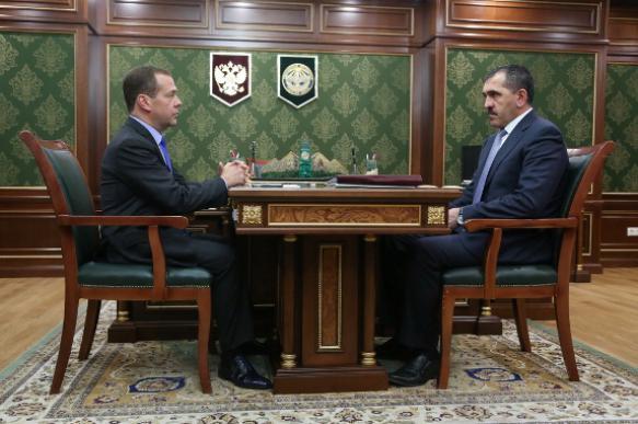 Юнус-Бек Евкуров рассказал об итогах визита Дмитрия Медведева в республику