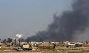 Под ошибочным ударом ВВС западной коалиции в Мосуле погибли бывшие иракские силовики