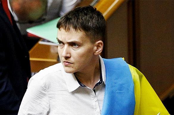 Савченко навестила пленных силовиков в ДНР