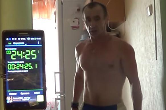 Знай наших: 55-летний красноярец устанавливает мировой рекорд