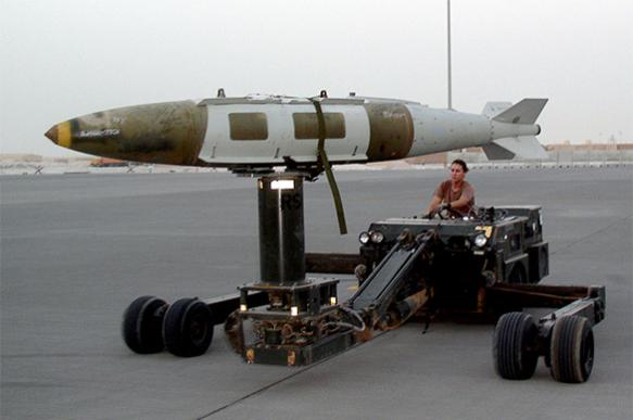 Афганистан сказал о поменьшей мере 36 убитых боевикахИГ при бомбардировке США