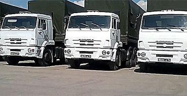Все грузовики российской гуманитарной колонны благополучно вернулись в Россию