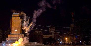 Мэр Харькова: Задача власти - восстановить памятник Ленину, а полиции – найти виновных