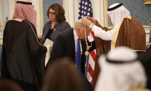 Трамп получил высшую награду Саудовской Аравии - орден короляАбдель Азиза