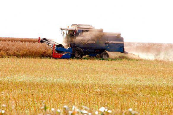 В России собрано почти сто миллионов тонн зерна