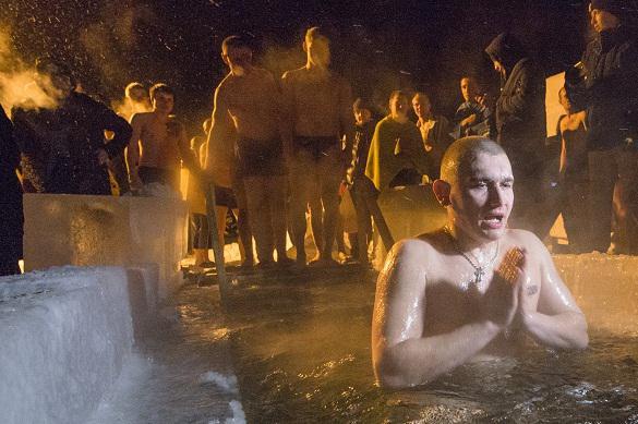 В Крещение вся вода получает божественное осенение