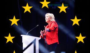 Марин Ле Пен уйдет с поста президента, если французы останутся в еврозоне