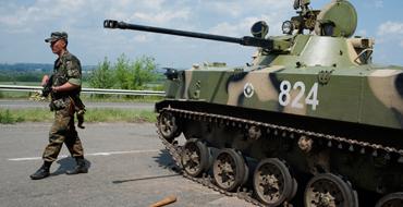 В боях у Славянска ранены 15 ополченцев