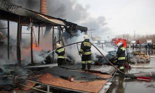 Пожарные Омска остались без горячей воды и розеток