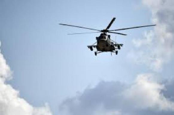 Военные вертолеты приземлились в Мариуполе - СМИ