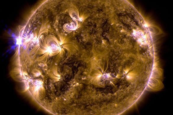 Ученые NASA обнаружили на Солнце необычное явление