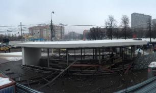 """У метро """"Коломенская"""" взорвался баллон с газом"""