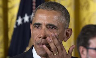 """В Европе устроили акцию """"Прощай, Обама"""""""