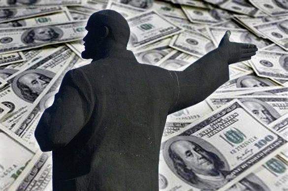 В украинском Чопе на Ленине заработали десять тысяч долларов